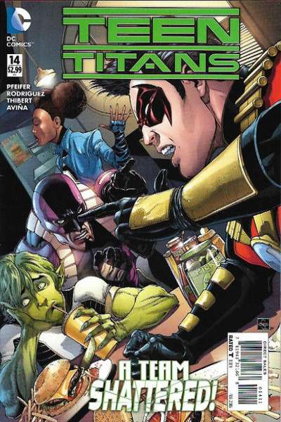 Teen Titans #14 Comic Books - Covers, Scans, Photos  in Teen Titans Comic Books - Covers, Scans, Gallery