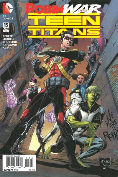 Teen Titans #15 Comic Books - Covers, Scans, Photos  in Teen Titans Comic Books - Covers, Scans, Gallery