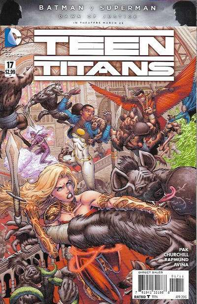 Teen Titans #17 Comic Books - Covers, Scans, Photos  in Teen Titans Comic Books - Covers, Scans, Gallery