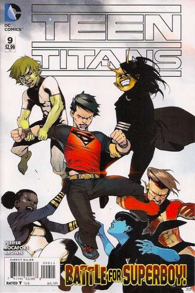 Teen Titans #9 comic books for sale