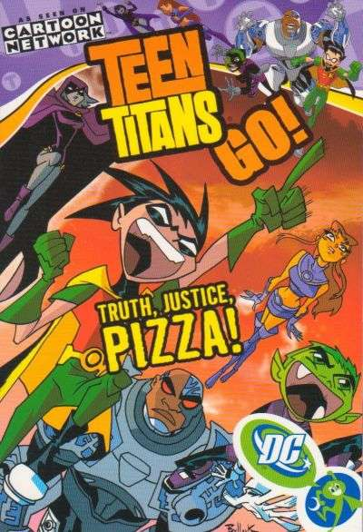 Teen Titans Go! comic books
