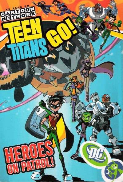 Teen Titans Go! #2 Comic Books - Covers, Scans, Photos  in Teen Titans Go! Comic Books - Covers, Scans, Gallery