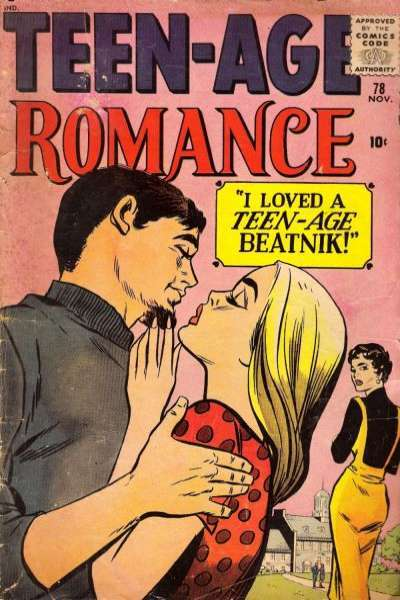 Teen-Age Romance #78 comic books - cover scans photos Teen-Age Romance #78 comic books - covers, picture gallery