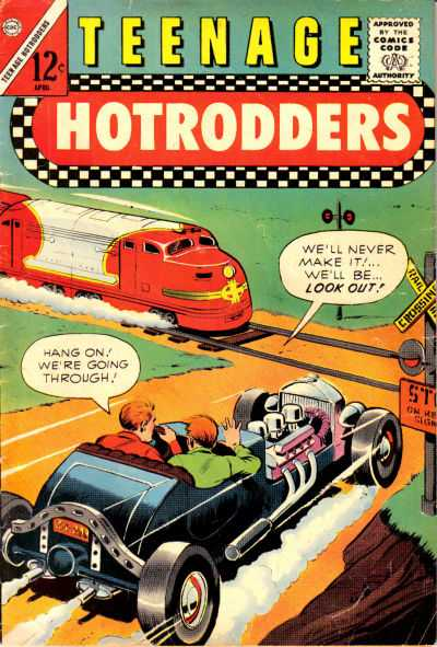 Teenage Hotrodders Comic Books. Teenage Hotrodders Comics.