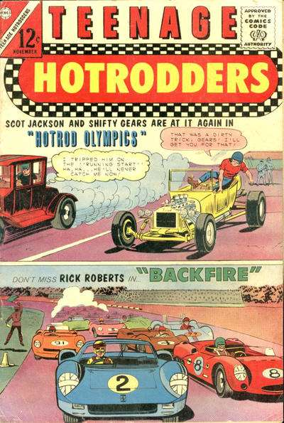 Teenage Hotrodders #15 Comic Books - Covers, Scans, Photos  in Teenage Hotrodders Comic Books - Covers, Scans, Gallery