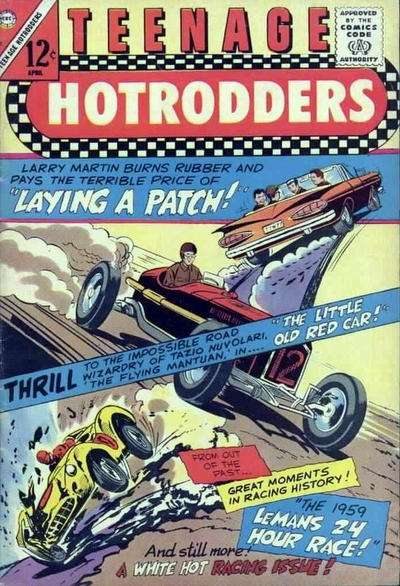 Teenage Hotrodders #17 Comic Books - Covers, Scans, Photos  in Teenage Hotrodders Comic Books - Covers, Scans, Gallery