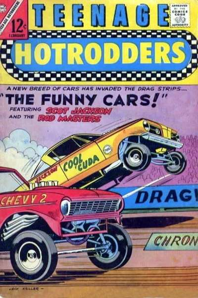 Teenage Hotrodders #22 comic books - cover scans photos Teenage Hotrodders #22 comic books - covers, picture gallery