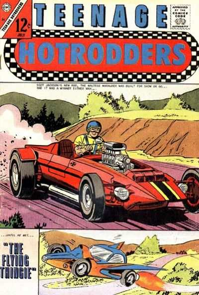 Teenage Hotrodders #24 Comic Books - Covers, Scans, Photos  in Teenage Hotrodders Comic Books - Covers, Scans, Gallery