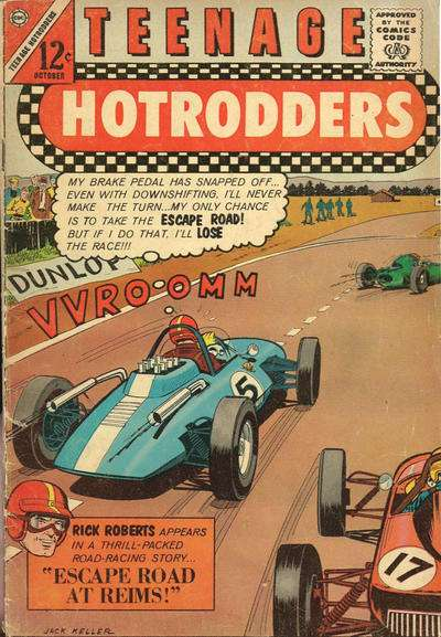 Teenage Hotrodders #4 Comic Books - Covers, Scans, Photos  in Teenage Hotrodders Comic Books - Covers, Scans, Gallery