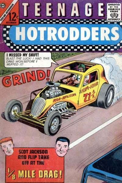 Teenage Hotrodders #5 Comic Books - Covers, Scans, Photos  in Teenage Hotrodders Comic Books - Covers, Scans, Gallery