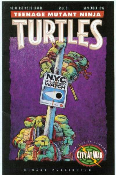Teenage Mutant Ninja Turtles #51 Comic Books - Covers, Scans, Photos  in Teenage Mutant Ninja Turtles Comic Books - Covers, Scans, Gallery
