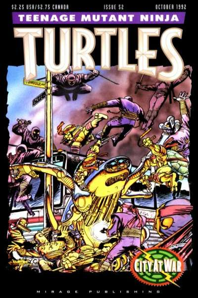 Teenage Mutant Ninja Turtles #52 Comic Books - Covers, Scans, Photos  in Teenage Mutant Ninja Turtles Comic Books - Covers, Scans, Gallery