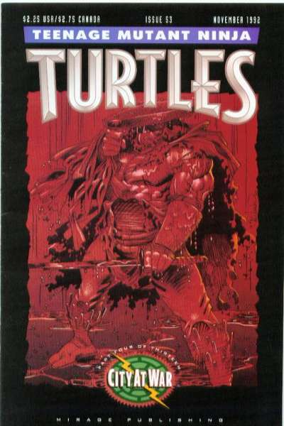 Teenage Mutant Ninja Turtles #53 Comic Books - Covers, Scans, Photos  in Teenage Mutant Ninja Turtles Comic Books - Covers, Scans, Gallery