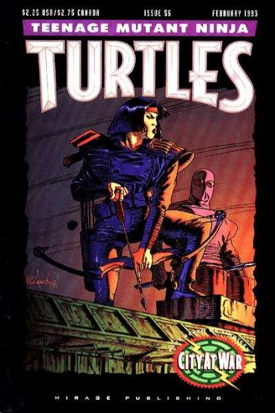 Teenage Mutant Ninja Turtles #56 Comic Books - Covers, Scans, Photos  in Teenage Mutant Ninja Turtles Comic Books - Covers, Scans, Gallery