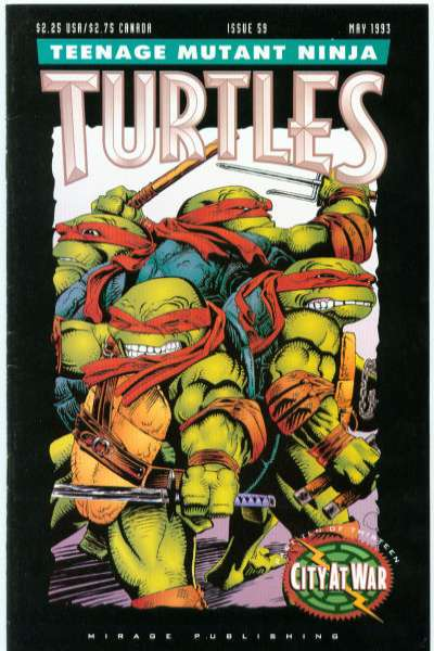 Teenage Mutant Ninja Turtles #59 Comic Books - Covers, Scans, Photos  in Teenage Mutant Ninja Turtles Comic Books - Covers, Scans, Gallery