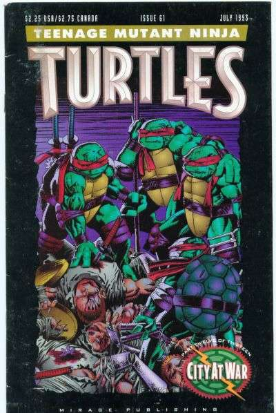 Teenage Mutant Ninja Turtles #61 Comic Books - Covers, Scans, Photos  in Teenage Mutant Ninja Turtles Comic Books - Covers, Scans, Gallery