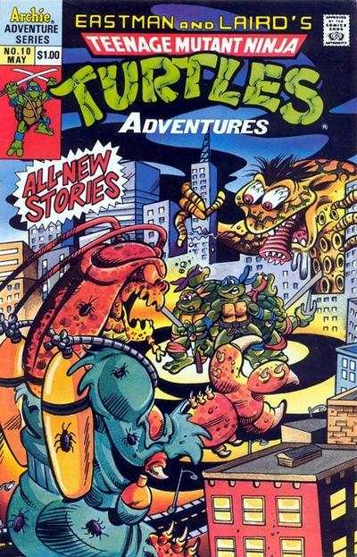 Teenage Mutant Ninja Turtles Adventures #10 comic books for sale