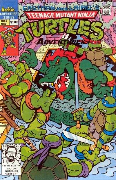 Teenage Mutant Ninja Turtles Adventures #6 comic books for sale