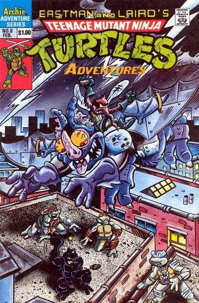 Teenage Mutant Ninja Turtles Adventures #8 comic books for sale