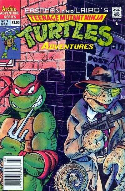 Teenage Mutant Ninja Turtles Adventures #9 comic books for sale