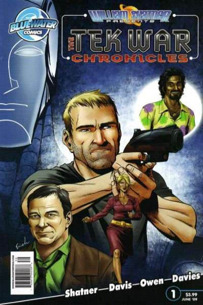 Tek War Chronicles comic books