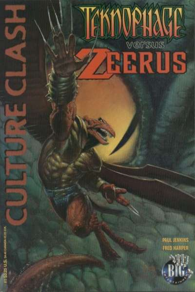 Teknophage versus Zeerus #1 comic books for sale