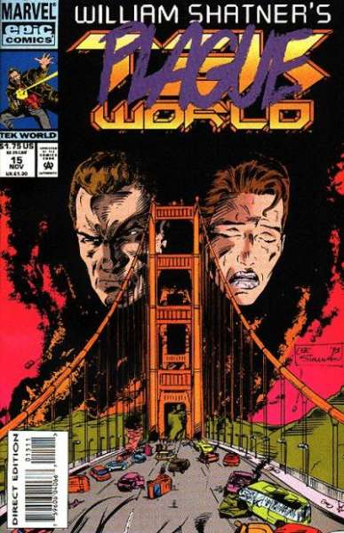 Tekworld #15 comic books - cover scans photos Tekworld #15 comic books - covers, picture gallery