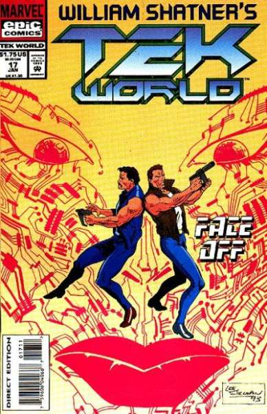 Tekworld #17 comic books - cover scans photos Tekworld #17 comic books - covers, picture gallery
