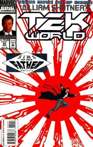 Tekworld #20 comic books - cover scans photos Tekworld #20 comic books - covers, picture gallery