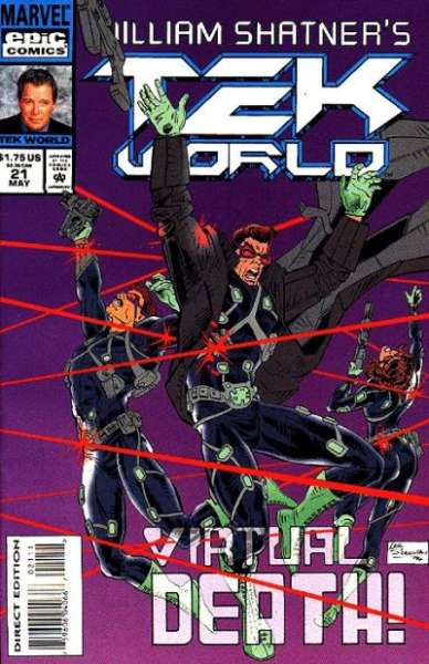 Tekworld #21 comic books - cover scans photos Tekworld #21 comic books - covers, picture gallery