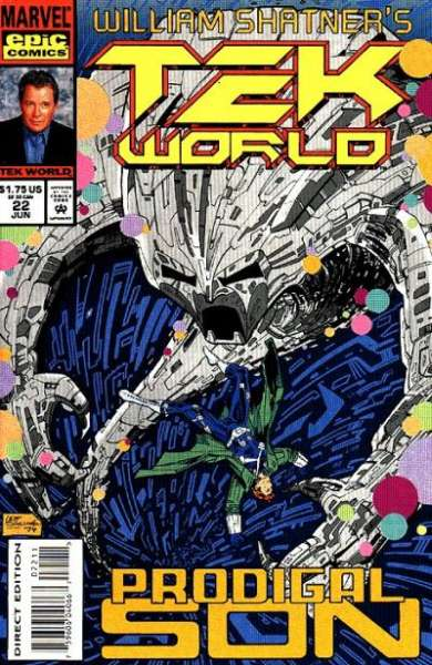 Tekworld #22 comic books - cover scans photos Tekworld #22 comic books - covers, picture gallery