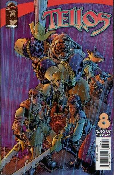 Tellos #8 cheap bargain discounted comic books Tellos #8 comic books