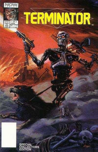 Terminator: All My Futures Past comic books