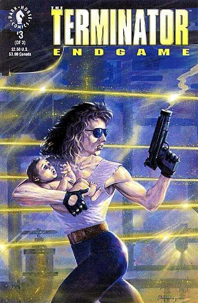 Terminator: Endgame #3 comic books - cover scans photos Terminator: Endgame #3 comic books - covers, picture gallery