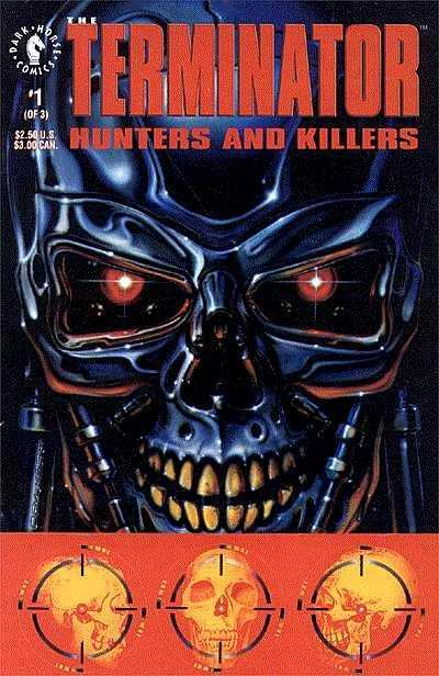 Terminator: Hunters and Killers #1 comic books - cover scans photos Terminator: Hunters and Killers #1 comic books - covers, picture gallery