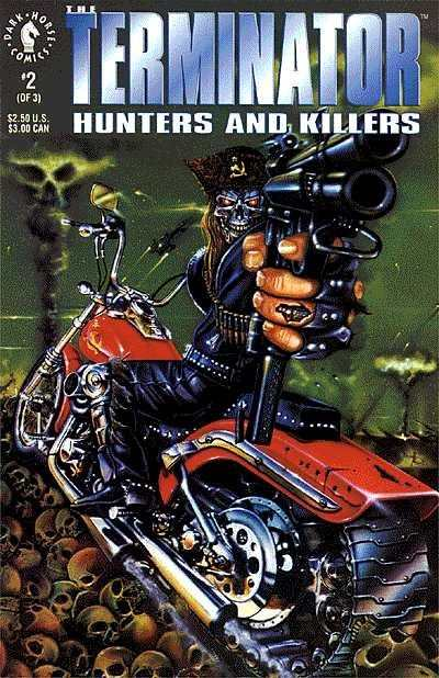 Terminator: Hunters and Killers #2 comic books - cover scans photos Terminator: Hunters and Killers #2 comic books - covers, picture gallery