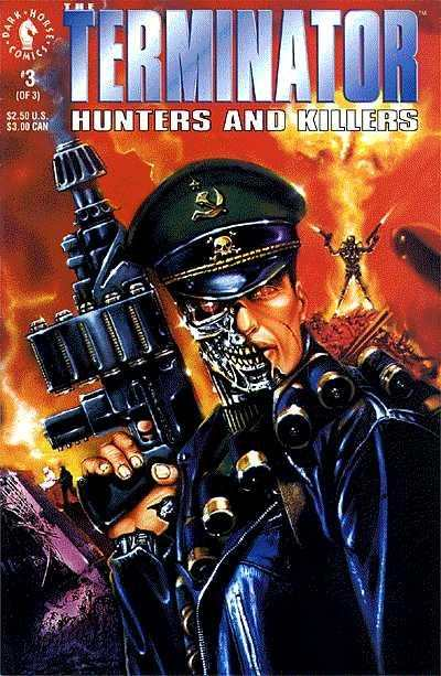Terminator: Hunters and Killers #3 comic books - cover scans photos Terminator: Hunters and Killers #3 comic books - covers, picture gallery
