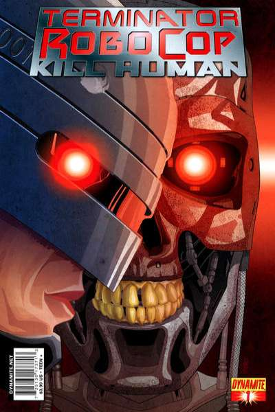 Terminator/Robocop: Kill Human comic books