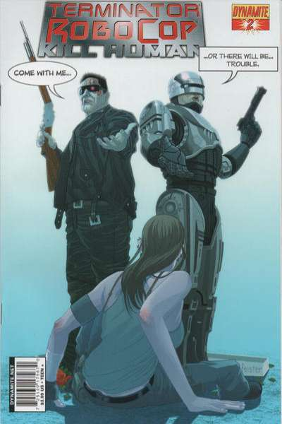 Terminator/Robocop: Kill Human #2 comic books for sale