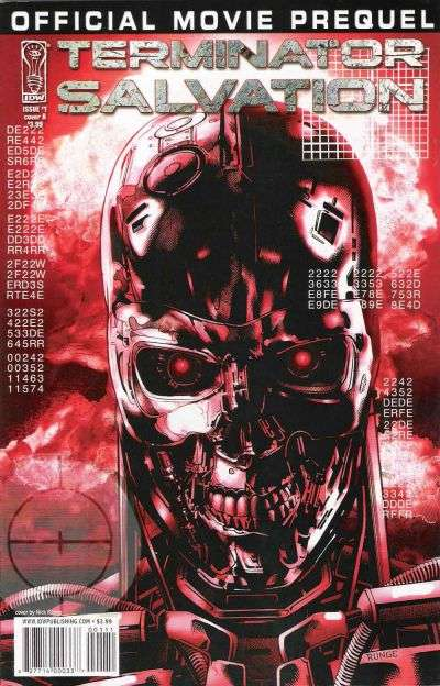 Terminator: Salvation Movie Prequel comic books
