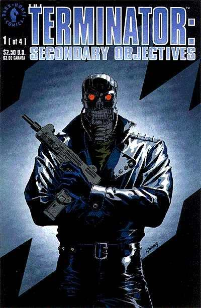 Terminator: Secondary Objectives #1 comic books - cover scans photos Terminator: Secondary Objectives #1 comic books - covers, picture gallery
