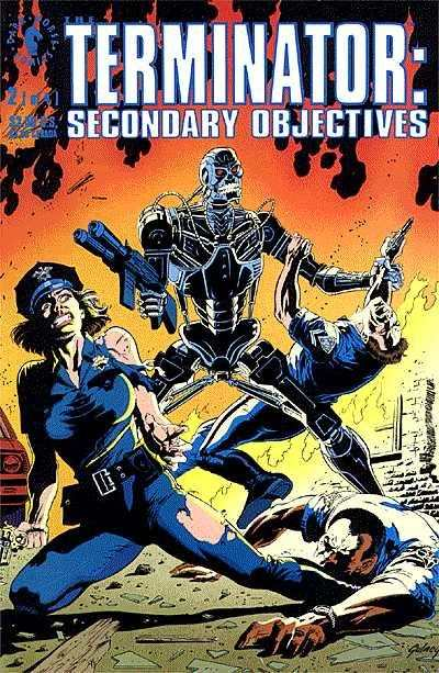 Terminator: Secondary Objectives #2 comic books - cover scans photos Terminator: Secondary Objectives #2 comic books - covers, picture gallery