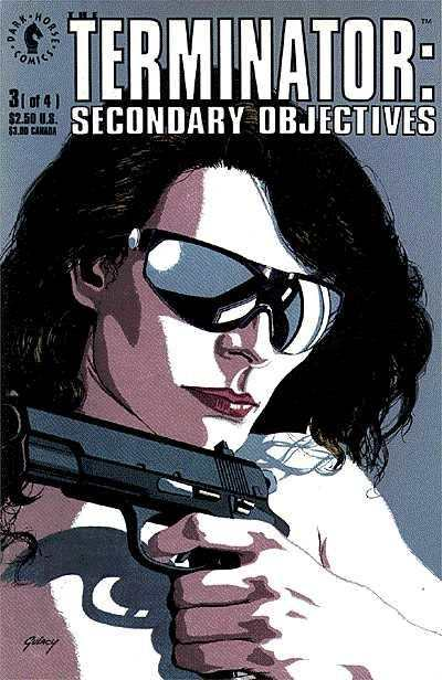Terminator: Secondary Objectives #3 comic books - cover scans photos Terminator: Secondary Objectives #3 comic books - covers, picture gallery