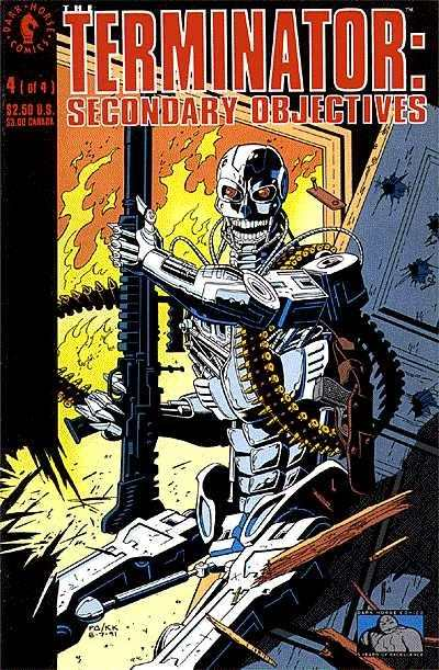 Terminator: Secondary Objectives #4 comic books - cover scans photos Terminator: Secondary Objectives #4 comic books - covers, picture gallery