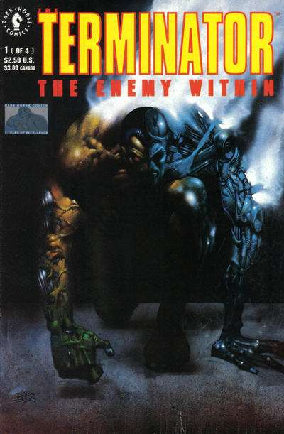 Terminator: The Enemy Within Comic Books. Terminator: The Enemy Within Comics.