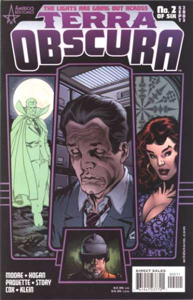 Terra Obscura #2 Comic Books - Covers, Scans, Photos  in Terra Obscura Comic Books - Covers, Scans, Gallery
