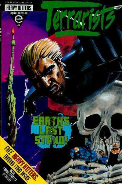 Terrarists #4 comic books - cover scans photos Terrarists #4 comic books - covers, picture gallery