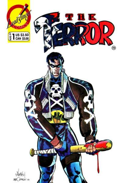 Terror #1 comic books - cover scans photos Terror #1 comic books - covers, picture gallery