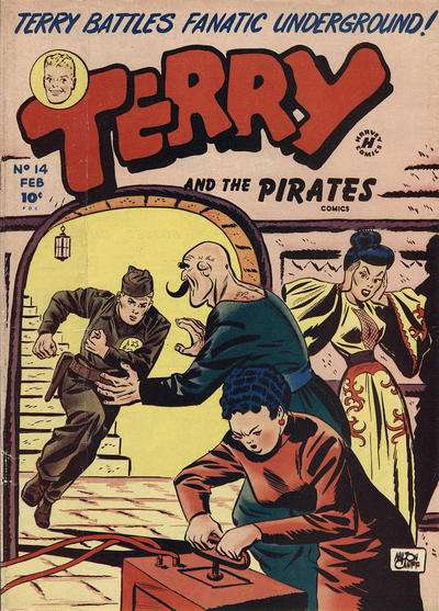 Terry and the Pirates #14 comic books for sale