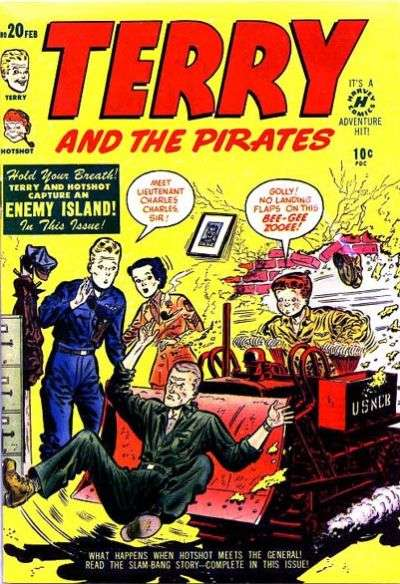 Terry and the Pirates #20 comic books for sale